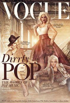 Homenagem: Vogue ganha capa especial com cantoras pop   Chic - Gloria Kalil: Moda, Beleza, Cultura e Comportamento
