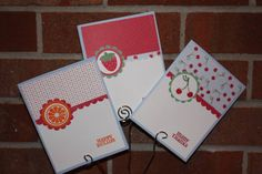 Tart & Tangy TRIO Card Set by lazydazy - Cards and Paper Crafts at Splitcoaststampers