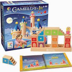 Juego de lógica de construcción de castillos CAMELOT JR