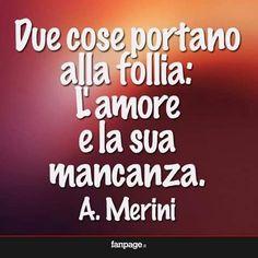 2cose portano alla #follia: l'#amore e la sua #mancanza (a.#merini