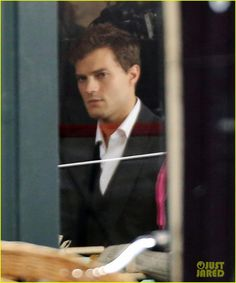 Jamie Dornan Films 'Fifty Shades of Grey': First On Set Pics! | Fifty Shades of Grey, Jamie Dornan Photos | Just Jared