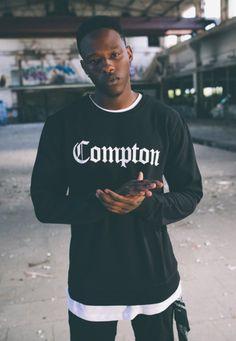 Compton Crewneck Sweater  #fashion #crewneck #compton  #hiphop #kleidung #style http://www.rudestylz.de/compton-crewneck-sweater.htm