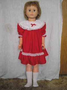 "36"" Walking Doll. Just hold her hand and walk and she would walk with you."