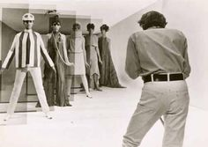 Arthur Evans . David Hemmings in Blow Up (Regie: Michelangelo Antonioni), 1966 . BFI Stills © Neue Visionen Filmverleih GmbH/Turner Entertainment Co. - A Warner Bros Entertainment Company
