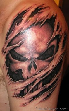 3d Skull Tattoo  Free Download 10650 With picture 12366