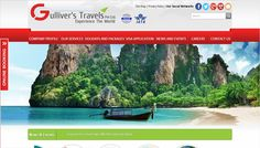 Gulliver's Travels Pvt Ltd is a Pakistan based travel agent providing worldwide travel solutions. one of the leading Travel Consultants in the country with an IATA approved license.   Visit : http://gullivers.com.pk/   Design & Developed by:  INTERACTIVE MEDIA www.imedia.com.pk