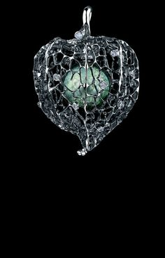 Jewellery Theatre - Caravaggio Collection - Chinese Lantern High Jewellery Pendant