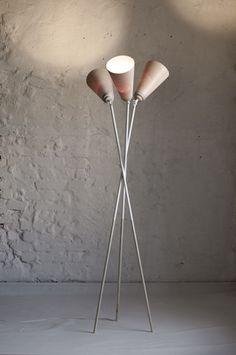 lykkelig floor lamp : she design studio