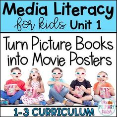 NOW AVAILABLE IN A MEDIA LITERACY BUNDLE! Click here to view Buy what you need to teach Media Literacy for the year and save $ :-)