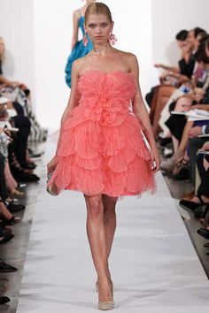 Oscar de la Renta SS 2014, New York Fashion Week