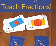 fraction card game