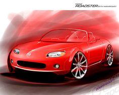 Mazda MX-5 Miata sketch