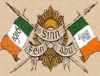 Sinn Féin - Arthur Griffith helped found the Sinn Féin movement in 1905, following the emergence of a more militant nationalist spirit in Ireland. Its name 'Ourselves' indicated an emphasis on economic and cultural self-sufficiency, as well as political independence. It was widely held responsible in both Britain & Ireland for the Easter Rising, though as an organisation it had not participated. In the December 1918 general election, Sinn Féin won 73 of the 103 Irish seats.