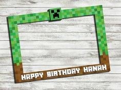 Image result for minecraft photo booth props