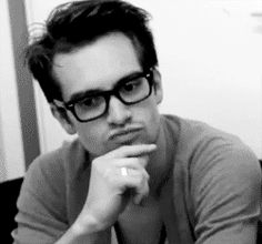 When he was looking adorably pensive. | 23 Times Brendon Urie Made You Incredibly Thirsty
