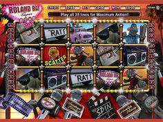 Roland Rat slots online   www.gossipbingo.com