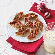 Recipe of the Week: Pecan and Honey Diamonds