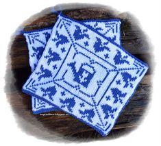 Blåklokke pattern by Jorunn Jakobsen Pedersen Double Knitting, Ravelry, Knitting Patterns, Winter Hats, Crochet, Hobbies, Design, Knit Patterns, Chrochet