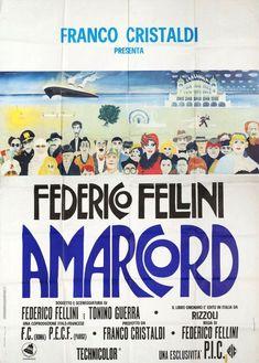 Amarcord Cinema Posters, Film Posters, Alice Brady, Alfred Newman, Andre Holland, Amanda Plummer, Adrian Martinez, Andy Devine, Amanda Donohoe
