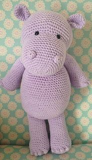 Is a hippopotamus really a hippopotamus or just a very cool opotamus? Crochet your very own cool, cuddly pal complete with bobble fingers and toes!