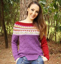 Ravelry: sassy jumper fair isle yoke pattern by Evelyn Siatra