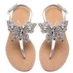 Pretty Sandals, Beautiful Sandals, Cute Sandals, Pretty Shoes, Cute Shoes Flats, Ella Shoes, Me Too Shoes, Bling Sandals, Shoes Sandals