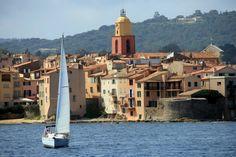 Saint-Tropez © Bex Walton Saint Tropez, St Tropez France, Saint Maximin, French Icons, South Of France, French Riviera, Beautiful Landscapes, Cannes, Strand