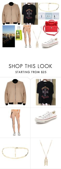 """Never let me go"" by losageles ❤ liked on Polyvore featuring River Island, PacSun, Lukka Lux, Converse and House of Harlow 1960"