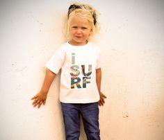 I Surf Toddler T-Shirt - whenever i have a child, they will so be little surfer kids!!