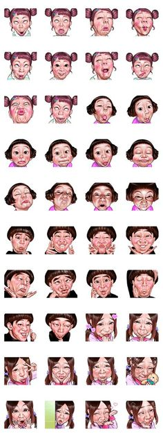 65 Ideas Wall Paper Cartoon Faces
