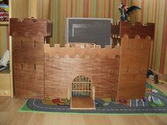 Chateau fort pour figurines Playmobil par Regis sur L'Air du Bois