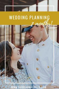2 Month Wedding Planning Update