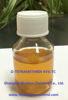 D-Tetramethrin 93% TC (cas 7696-12-0) is a pesticide with powerful and rapid knockdown action to fly, mosquito and other household pests and expelling action to roach but no lethal effect, in mixture with other lethal pesticides in aerosol and spray against household and livestock pests, garden and food storage pests.