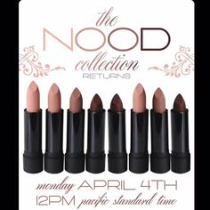 #RESTOCK  The #NOOD #Collection by @meltcosmetics includes: 3 shades... #MeltSext #MeltLaced & #MeltCatSuit  APRIL 4TH @ NOON PST   What's on your list?  #Trendmood #meltcosmetics #cosmetics #lips #lip #Lipstick #ilovemakeup #makeupart #makeupartist #wakeupandmakeup #instamakeup #makeupaddict #makeuplover #makeupoftheday THANK U you to our  FABULOUS makeup community for this update  by trendmood1