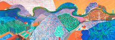 This painting was endless inspiration to finally get out of SLC! Close to my heart.  DAVID HOCKNEY: PAINTINGS