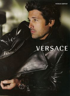 Patrick Dempsey for Versace by Mario Testino (2009)