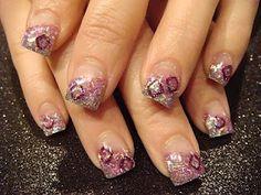 february acrylic nail ideas | Nail Art: February 2010 | Nails - Acrylic Ideas | Pinterest