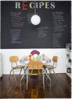 Chalk Board Kitchen