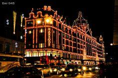 London - Harrods at Christmas