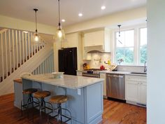 Altadena California kitchen renovation features CliqStudios Dayton Painted White cabinets