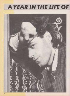 Bob Geldof - Number One Magazine 1985 Fun Boy Three, Eddy Grant, The Boomtown Rats, Sheena Easton, The Proclaimers, Rat Boy, Chris De Burgh, Billy Ocean, Debbie Allen