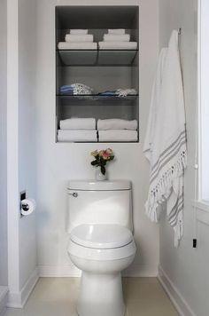 118 best recessed shelving ideas images bathroom remodeling rh pinterest com