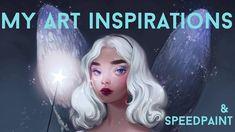BLUE FAIRY SPEEDPAINT+ MY ART INSPIRATIONS