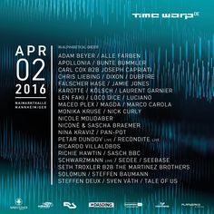 Time Warp DE 2016