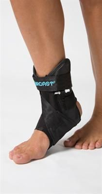 Aircast AirLift™ PTTD Brace - designed for the treatment of:        Posterior tibial tendon dysfunction (PTTD).      Posterior tibial tendonitis.      For early signs and symptoms of adult acquired flat foot.