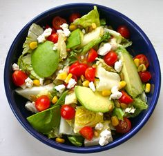 Bake It and Make It with Beth: Mexican Salad with Cilantro-Lime Vinaigrette