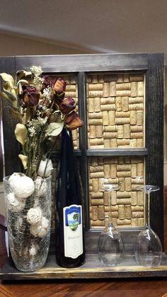 Wine/Winecork Display Wall Hanger Display Wall, Custom Woodworking, Wall Hanger, Ladder Decor, Wine, Inspiration, Home Decor, Biblical Inspiration, Decoration Home