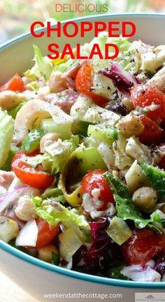 italian chopped salad california pizza kitchen copycat with the rh pinterest com