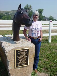 "Lifesize Bust of ""the Teacher"".   Just a regular HORSE but also old enough and experienced enough to teach adults and kids to ride.   Nothing better than an experienced horse to learn from and always be safe!    Dawn absolutely loved horses!"
