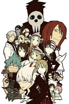 Wikia Anime — Soul Eater Lol soul eater so many memories I Love Anime, Awesome Anime, Me Me Me Anime, Fanart Manga, Manga Anime, Anime Art, Soul Eater Evans, Shinigami, Fan Art